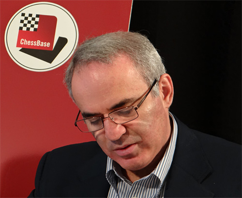 Kasparov in 2012