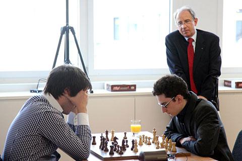 Radjabov y Caruana