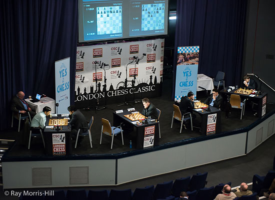 Round #3 action at the London Chess Classic!