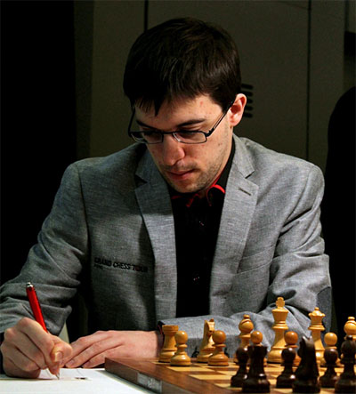 MVL got an early Christmas present from Topalov.