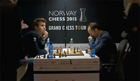 Carlsen informed that he had forfeited!!