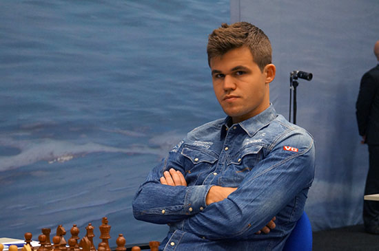 World Champion, Magnus Carlsen. Photo by Nadja Wittmann.