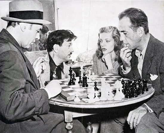 movie stars playing chess chessbase