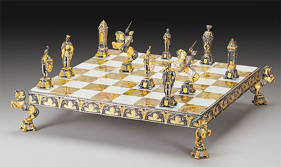 Chess Sets For The Rich And Famous Chessbase