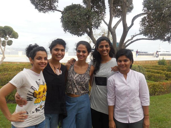 Padmini Rout, Soumya Swaminathan, Tania Sachdev, Harika Dronavalli, Pratyusha Bodda