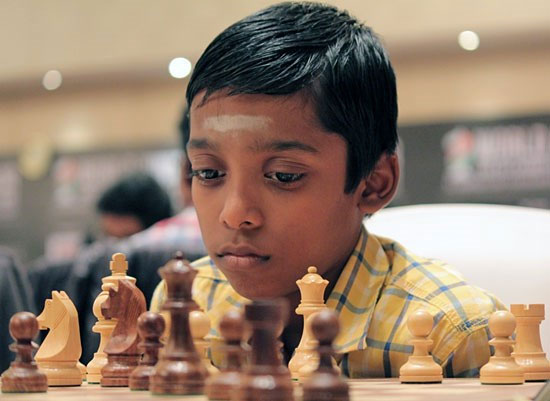 Praggnanandhaa Youngest Chess Im In History on 8