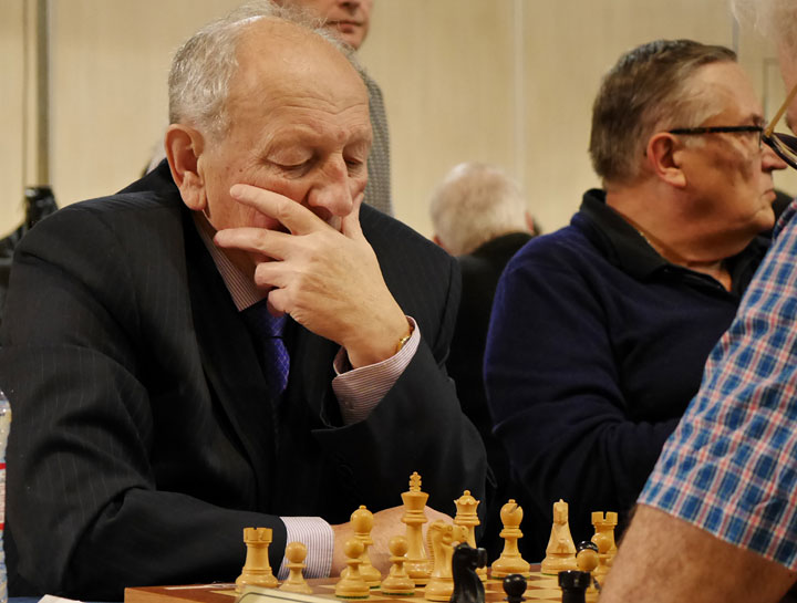 Evgeny Sveshnikov (sección absoluta, 65+) | Foto: Helen Milligan