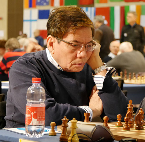 GM Eugenio Torre (Filipinas)| Foto: Helen Milligan