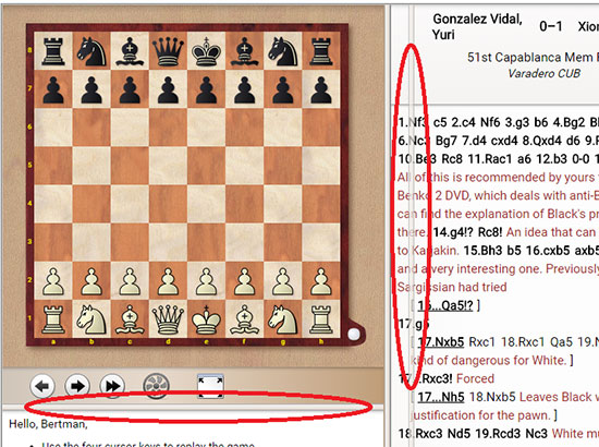 ChessBase's powerful games replayer for *Free* | ChessBase