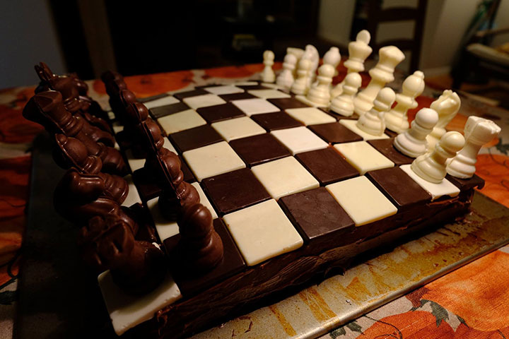 Give Thanks For A Chess Cake Chessbase