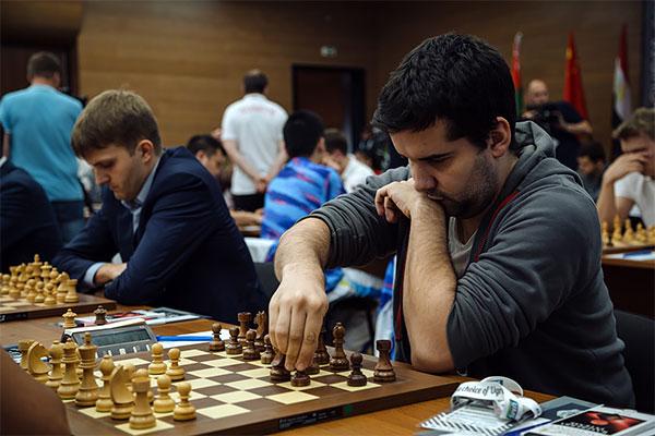 Ian Nepomniachtchi, el equipo ruso