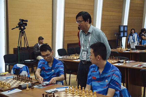 El equipo de China es el princial favorito en la sección absoluta