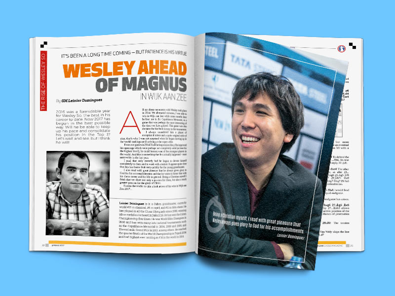 American Chess Magazine stays the course | ChessBase