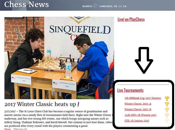 Tactical Analysis: At home and in Live Broadcasts | ChessBase