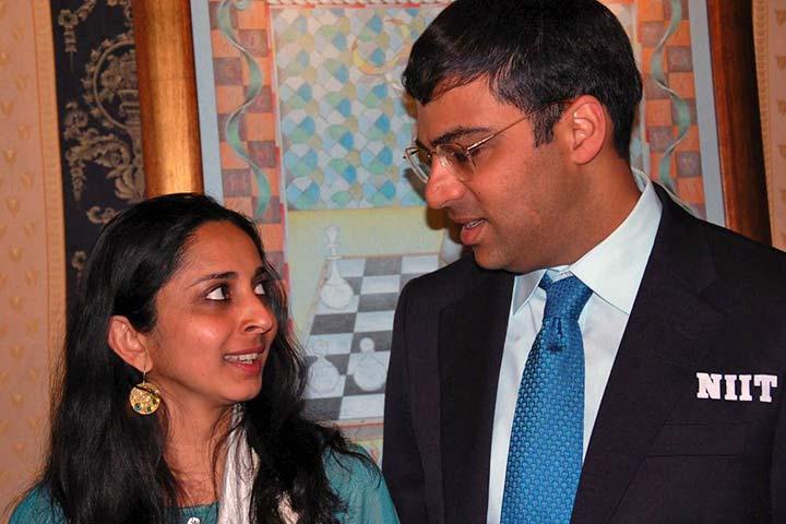 Viswanathan anand marriage photos