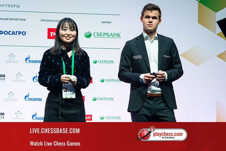 FIDE World Blitz Champions: Carlsen and Lagno | ChessBase