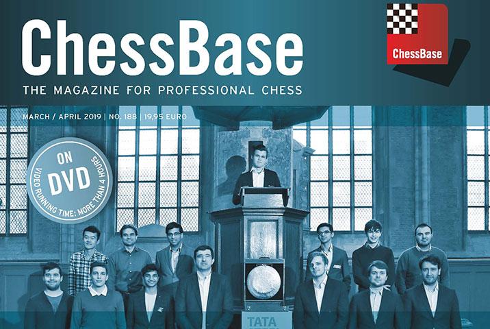 نتیجه تصویری برای chessbase magazine 188