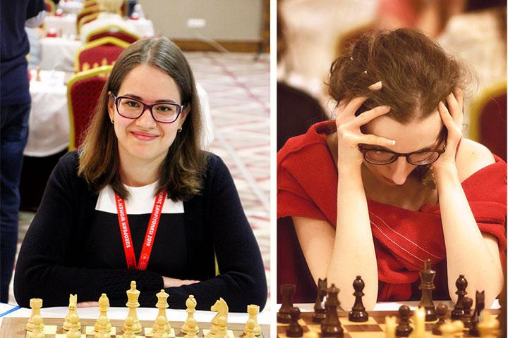 ch kashlinskaya takes the lead chessbase