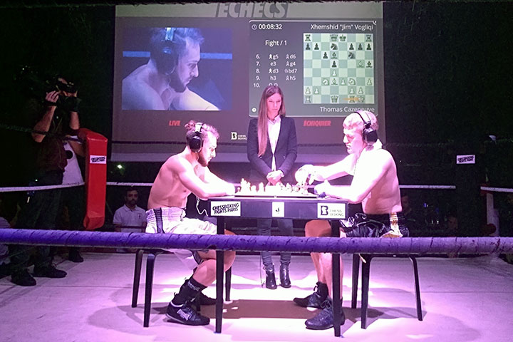 Cheers galore as chessboxing kicks off in France   ChessBase
