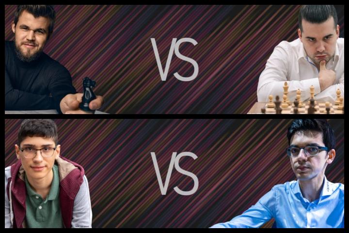 Magnus Carlsen Invitational: Carlsen in semis, Firouzja beats Giri ...