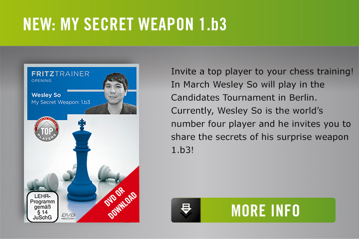 Wesley So My Secret Weapon 1.b3