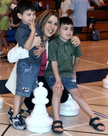 روش آموزش شطرنج به کودکان , سوزان پولگار,مربی و مادر شطرنج