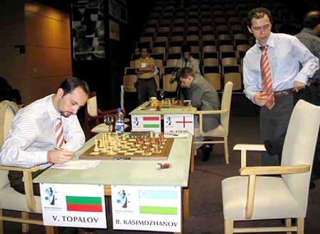 Championnat du Monde d'Echecs 2005 Rd07-02