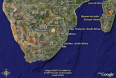 pictures and wallpaper: google maps africa on road maps south africa, world map south africa, weather map south africa,