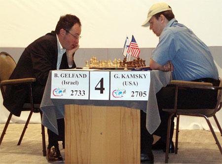 Gelfand zonder pet, chessbase