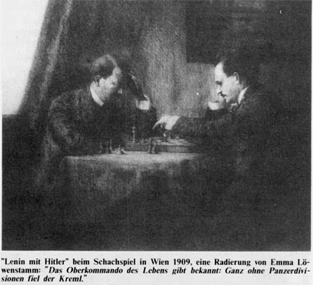 آیا لنین و هیتلر بر روی صفحه شطرنج با هم رویارویی داشته اند؟