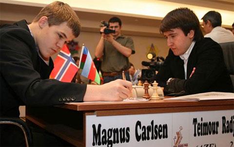 Magnus Carlsen vs. Teimour Radjabov