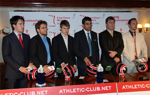 Radjabov, Aronian, Carlsen, Anand, Ivanchuk, Topalov