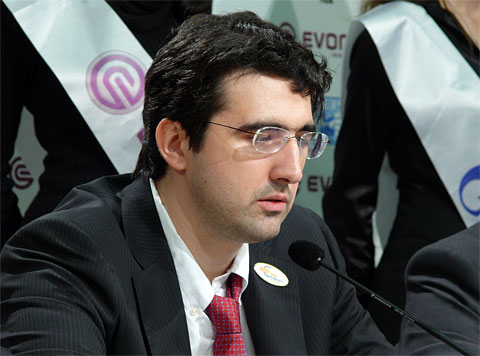 Kramnik needs to find answers. Photo by Frederic Friedel.
