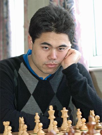 Hikaru Nakamura at 2008 Gibtel Masters