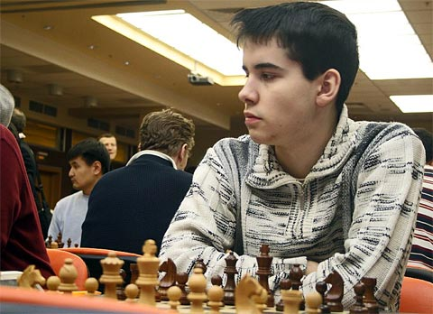 17-year old GM Ian Nepomniachtchi, Russia