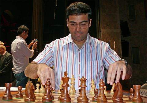GM Viswanathan Anand