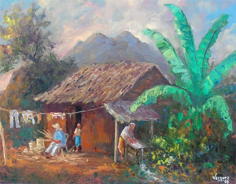 Mexican Oil Paintings