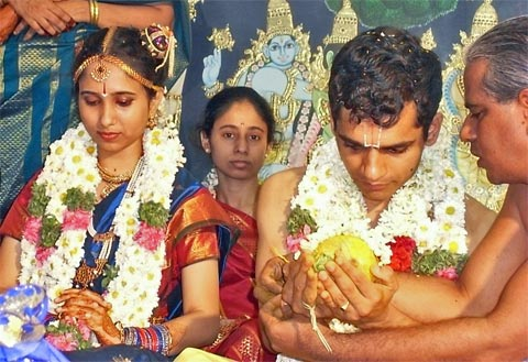Indian wedding ceremonies like this can last for two or three days