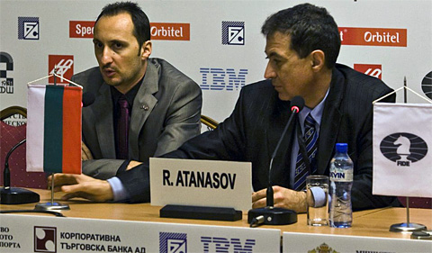 Topalov trying to figure out what went wrong.