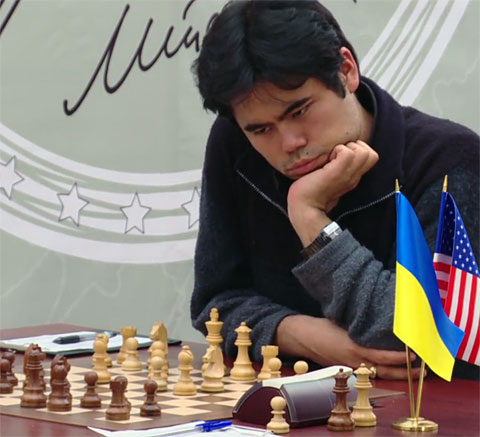 Hikaru Nakamura could not get by a relentless Vassily Ivanchuk.