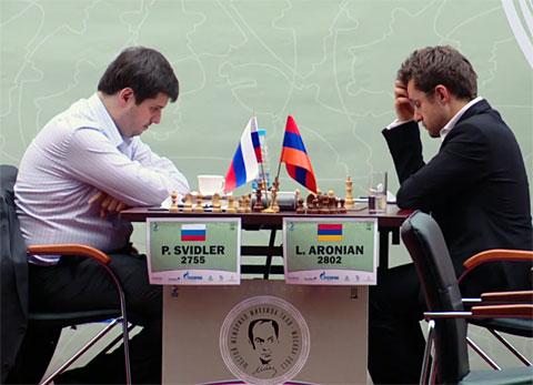 Peter Svidler-Levon Aronian