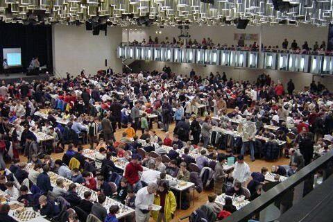 Vista general de la gran sala de juego