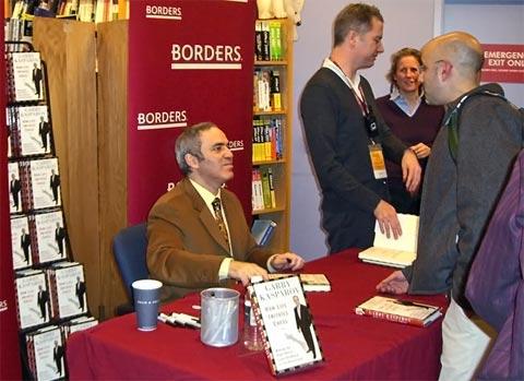 Garry Kasparov Book Tour