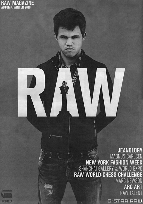 Magnus Carlsen's new career: fashion model!