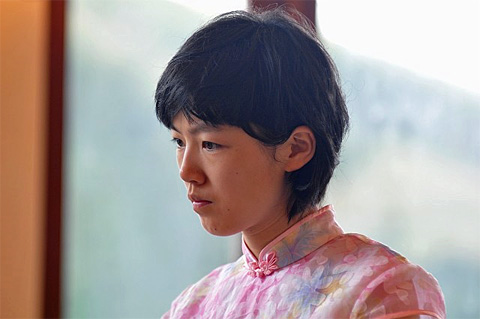Photographer&#39;s favourite 21-year-old WGM Shen Yang, who lost in rounds two <b>...</b> - shenyang02