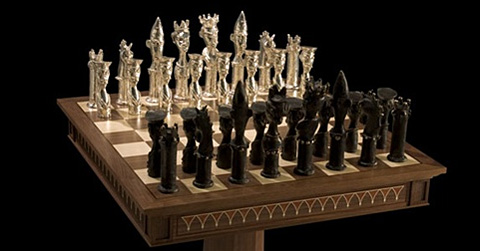 Chess sets for the jet set chessbase - Inexpensive chess sets ...
