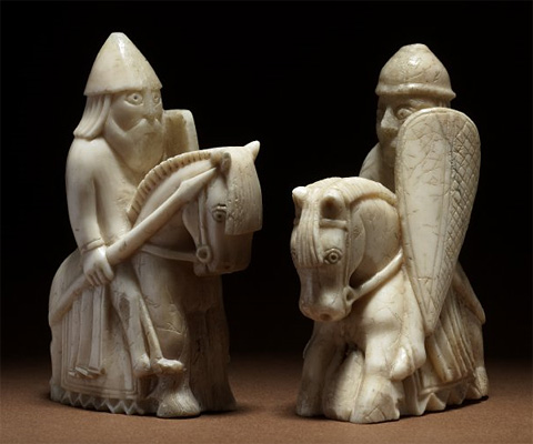 The enigma of the lewis chessmen chessbase - The chessmen chess set ...