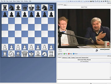 gogm??Z[???L_gm jan gustafsson and frederic friedel during the playchess inte