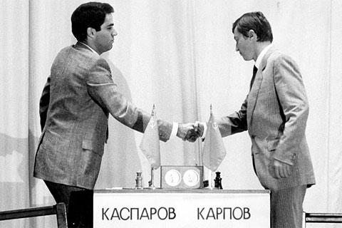 Karpov Fought Kasparov in