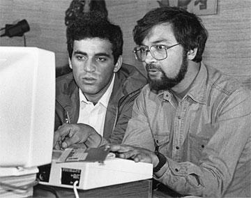 Garry Kasparov y Frederic Friedel